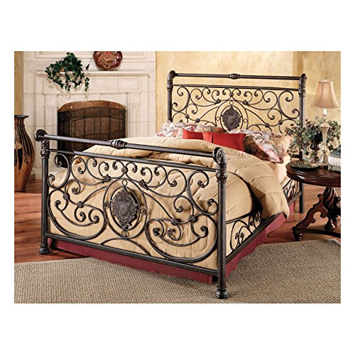Hillsdale Furniture 1039BQR Mercer Bed Set with Rails, Queen