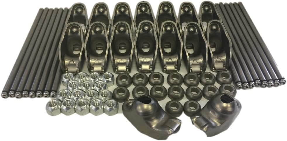 Chevy 350 5.7 5.7L Comp Cams Magnum Roller Rockers Arms 3//8+1.52 Self-Aligning