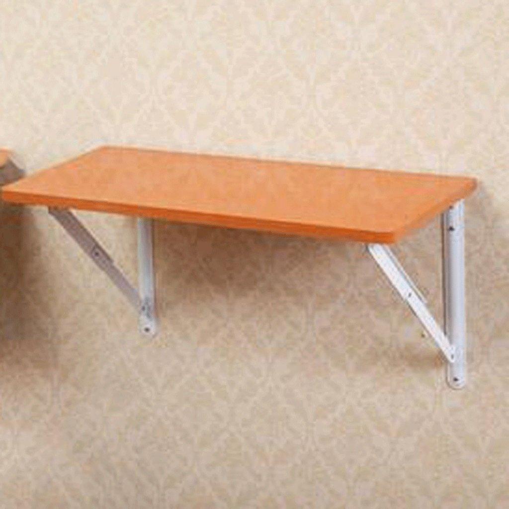 GAOLILI シンプルな小さなアパート折りたたみコンピュータデスクの壁テーブルの壁掛けデスクの壁の壁の壁のテーブルの折りたたみ壁のテーブルのコンピュータテーブルのテーブル (色 : B) B07DNTV6TBB