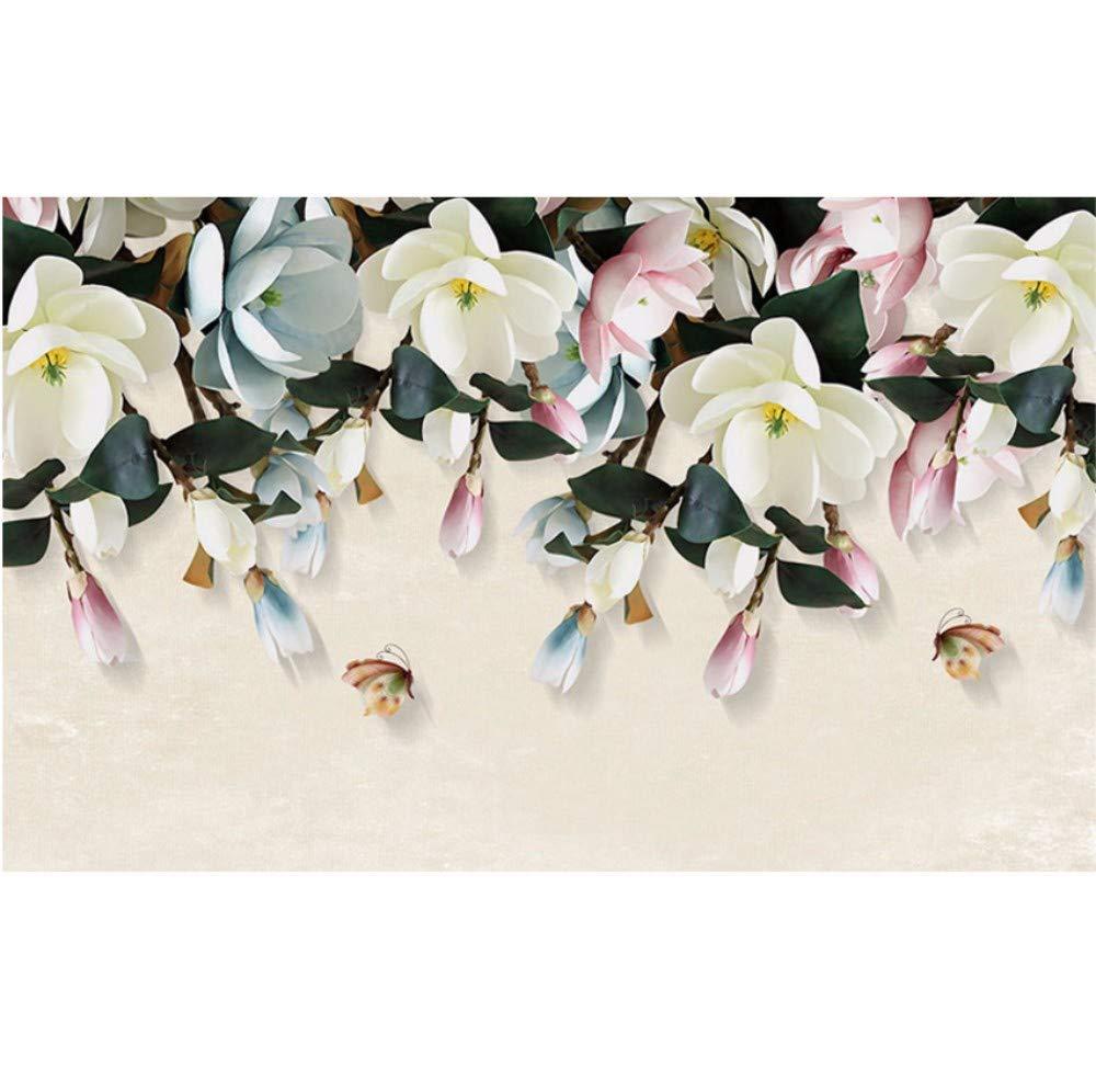 Amazon Com Dalxsh Flower Wallpaper Murals For Living Room Tv