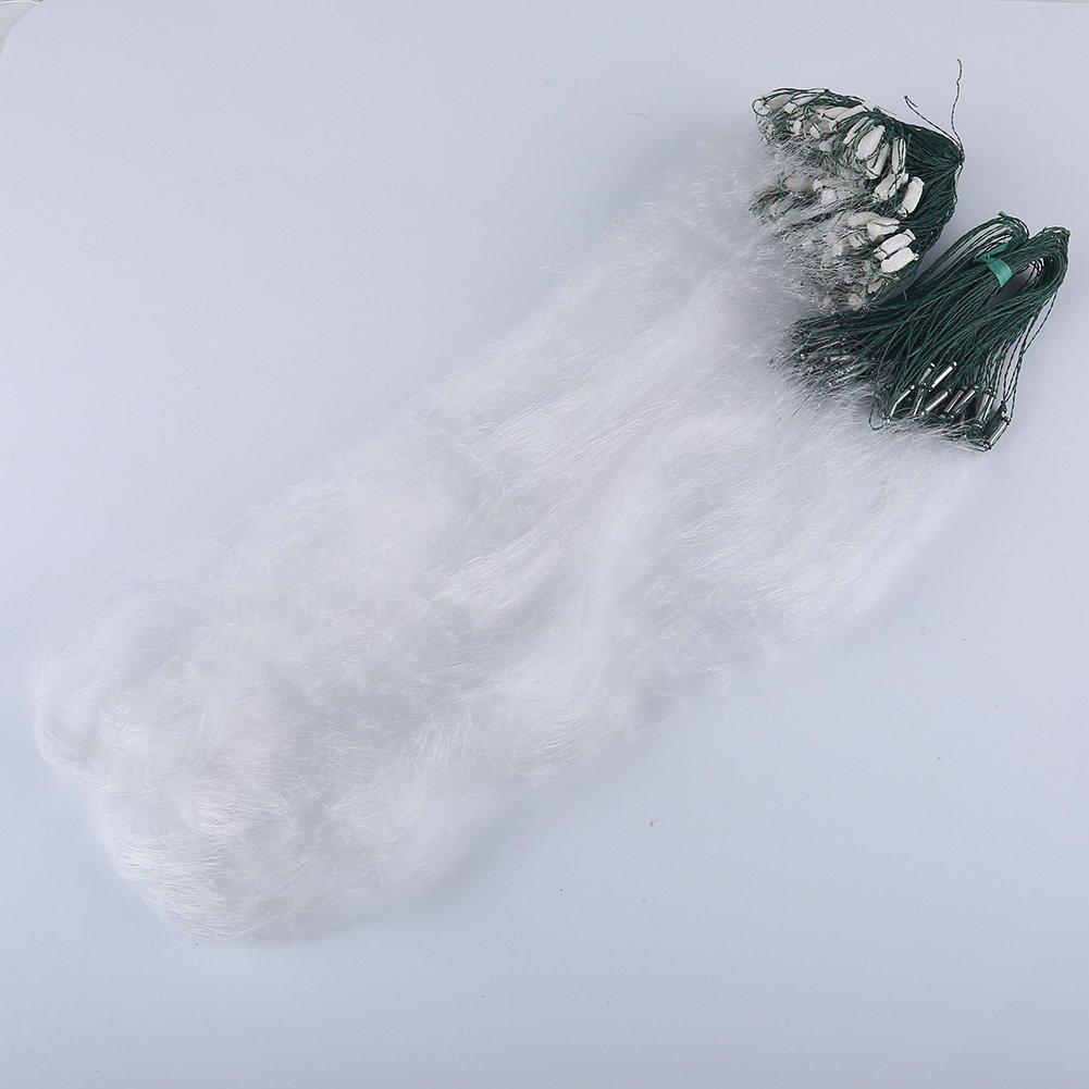 1,2x30M Angelnetz Fischerei Cast Netze mit Float VGEBY