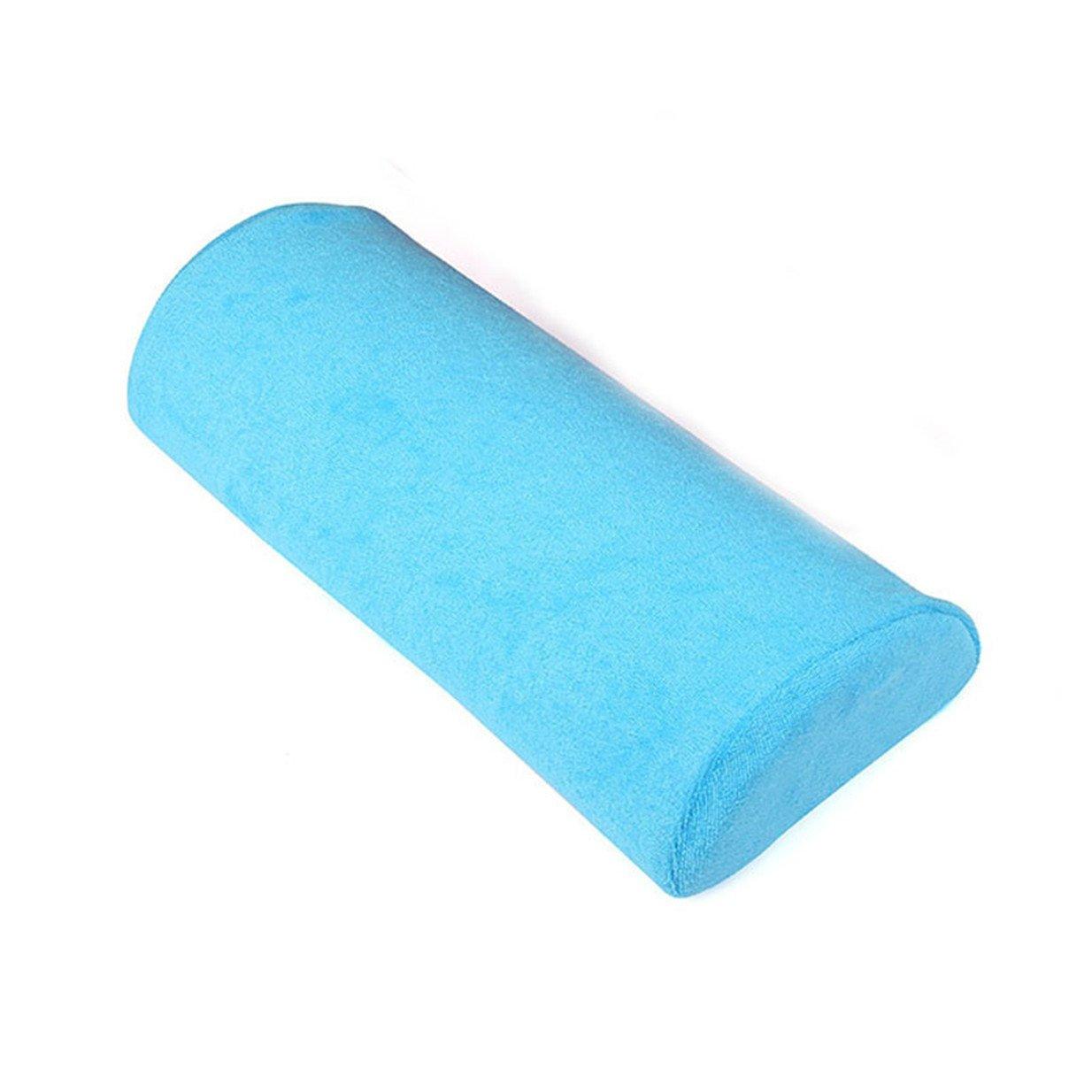 Lalang Repose Main Coussin Pour Nail Art Salon Manucure Bleu