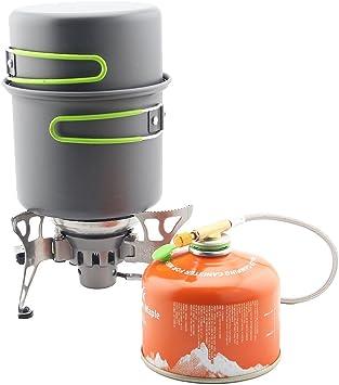 RSB BRS-T15A - Estufa de gas portátil para exteriores a ...