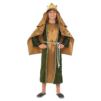 Hombre Sabio - Oro - Niños Disfraz - Grande - 136cm: Amazon ...