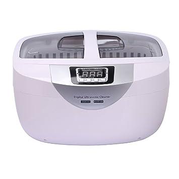 CAHAYA Limpiador Ultrasónico Equipo de Limpieza por Ultrasonidos con Temporizador y Sistema de Calefacción para Dentaduras
