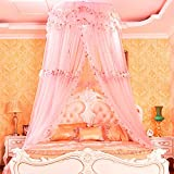 Mosquito Net Court Style Bed Canopy For Children Fly Insect Protection Indoor Decorative Height 3.4m Top Diameter 1.2m