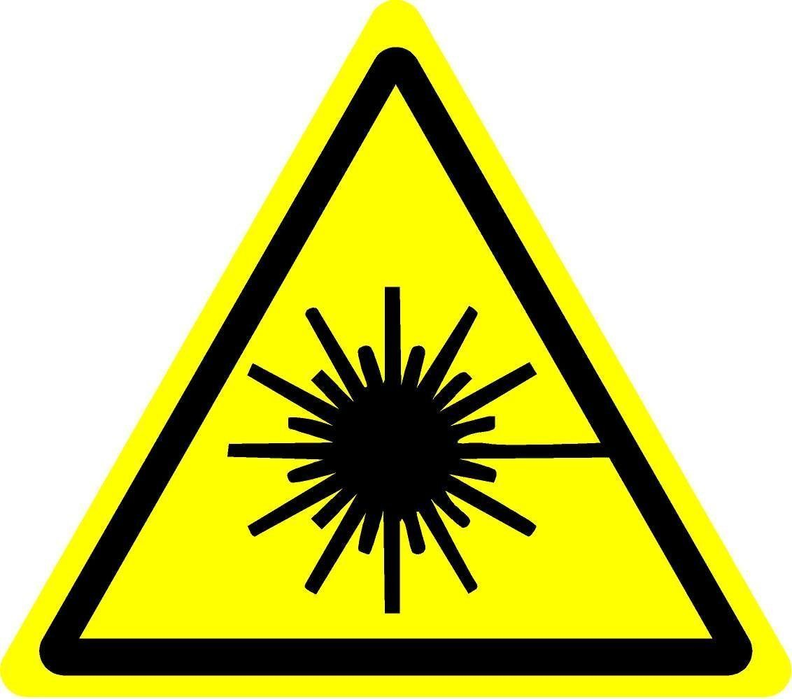ISO Safety Label Sign International Warning Electricity Symbol Self adhesive sticker 50mm Diameter PACK OF 5 STICKERS