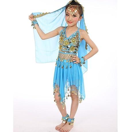 new style 14e10 68689 Byjia Accessori Vestiti di Moda Costumi India Ragazza Danza ...
