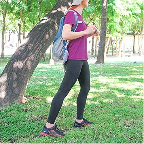 Workout Outdoor Activities Litume Women/'s Quick Dry Athletic V-Neck T-Shirt for Running M-XL Hiking