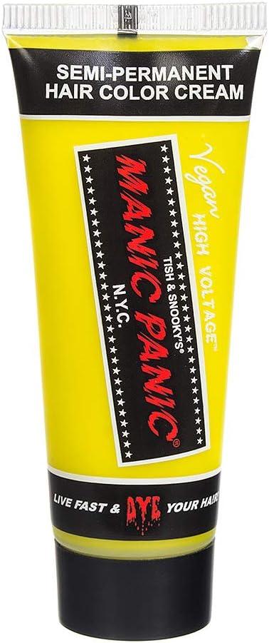 Tinte Capilar Classic De Manic Panic High Voltage Mini 25ml (Electric Banana)