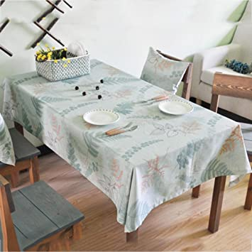 Kaiganghome Tischdecken Nordic Baumwolle Tischwasche Home Wohnzimmer