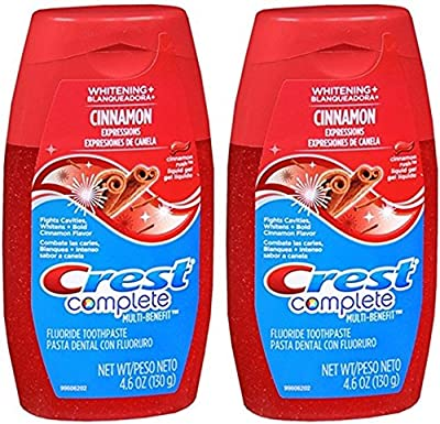 Crest Complete Whitening Expressions Cinnamon Rush Toothpaste