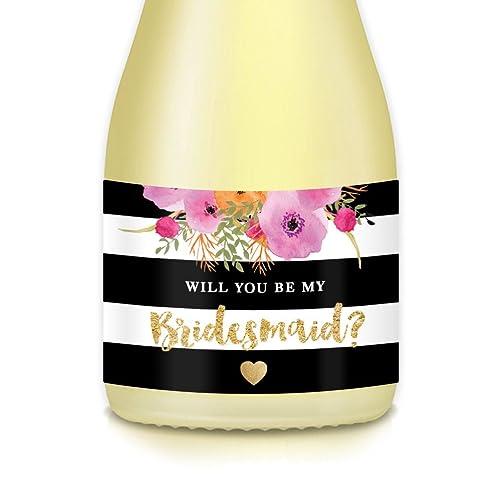 will you be my bridesmaid decal proposal box decal bridesmaid gift box Bridesmaid proposal box Proposal box sticker wedding box decal