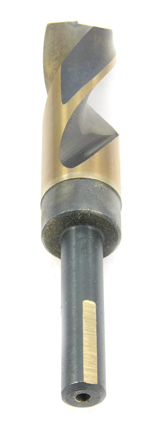 1-inch Forney Industries Forney 20688 Drill Bit Industrial Pro Silver and Deming with Flatted 1//2-Inch Shank