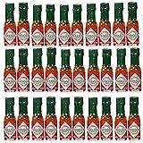 Tabasco brand Pepper Sauce 30-pack Miniatures 1/8oz Bottles