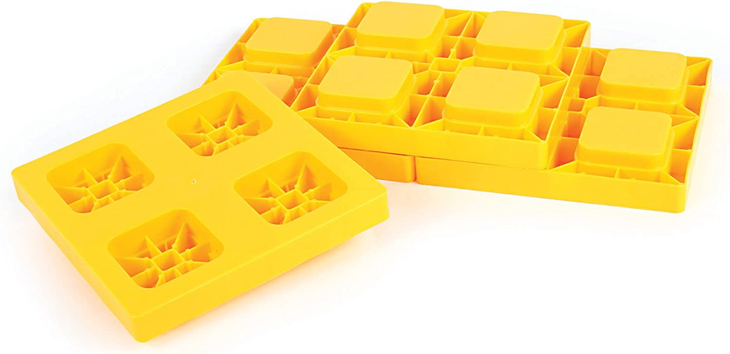 Camco Heavy-Duty Leveling Blocks 4-Pack