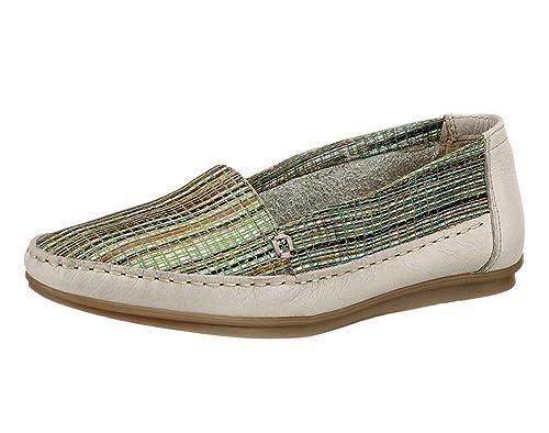 Hush Puppies - Mocasines para mujer Multicolor hellgrün-beige-bunt, color Multicolor, talla 38 EU: Amazon.es: Zapatos y complementos