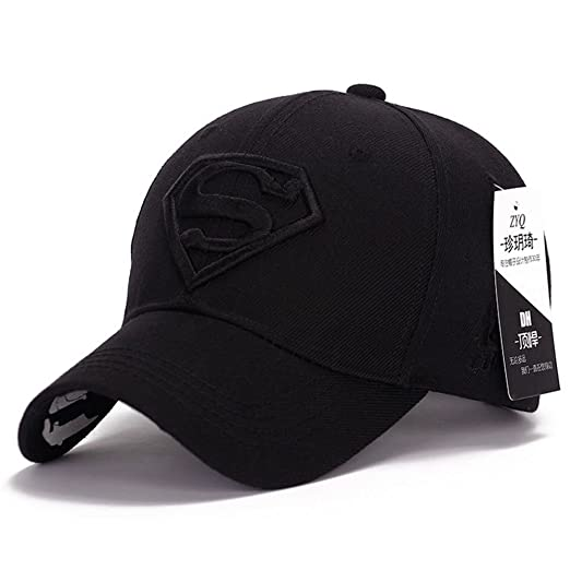 9be2581d Image Unavailable. Image not available for. Color: Seazhio Awesome Snapback  Crochet Superman Steampunk Unisex Baseball Hat