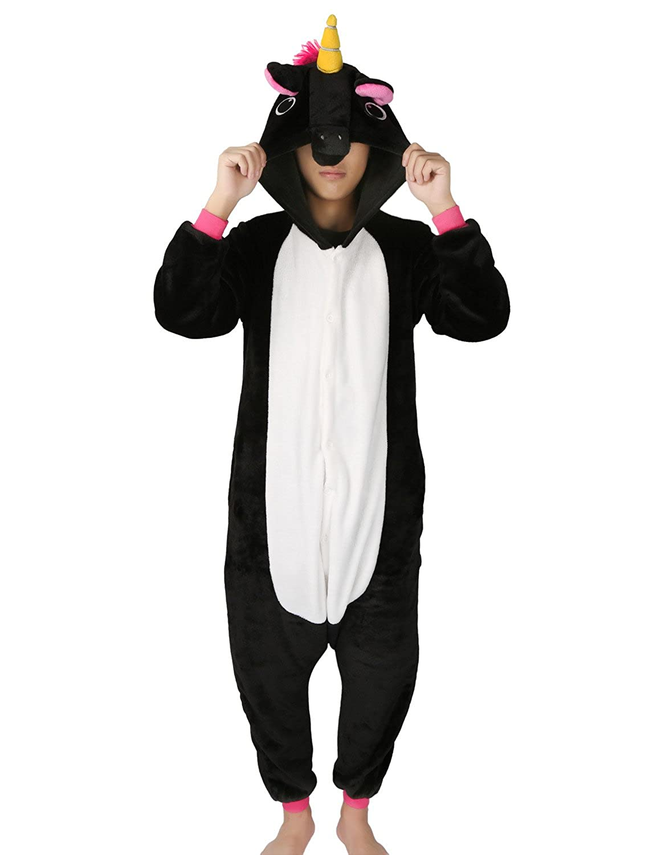 Pigiama Animali Unisex Costume Halloween Cosplay Carnevale Festa Attrezzatura Tuta Costume Intero Adulti Jumpsuit