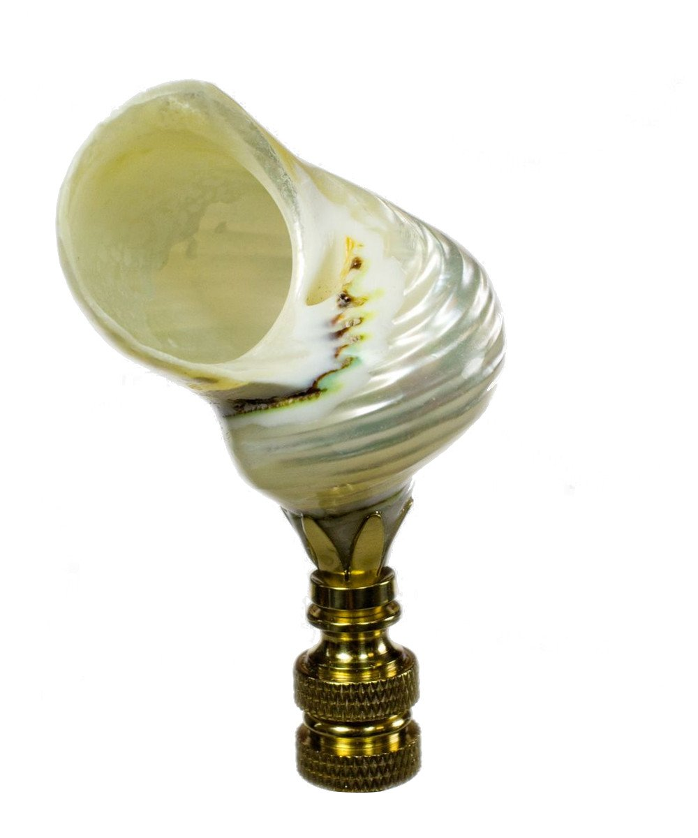 Sea Shell Accent Finial