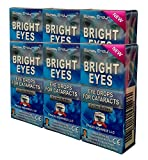 Ethos Bright Eyes™ Carnosine NAC Eye Drops-6-Pack of 12 x 5ml Bottles - NAC Eye Drops (Safe for Cataracts Sufferers) - As Seen on UK National TV with Amazing Results! (N-Acetyl-Carnosine)