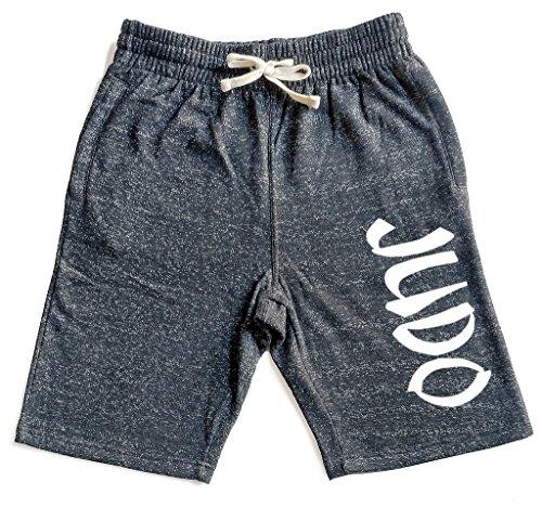 Men's Graffiti Judo V439 Graphic Snow Fleece Jogger Sweatpant Gym Shorts – DiZiSports Store