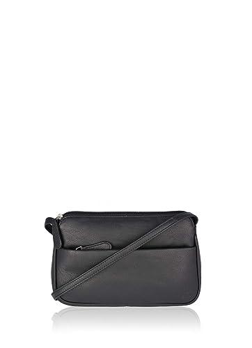 6dd00290381b Lakeland Leather Rubi II Women s Real Leather Cross Body Bag in Black