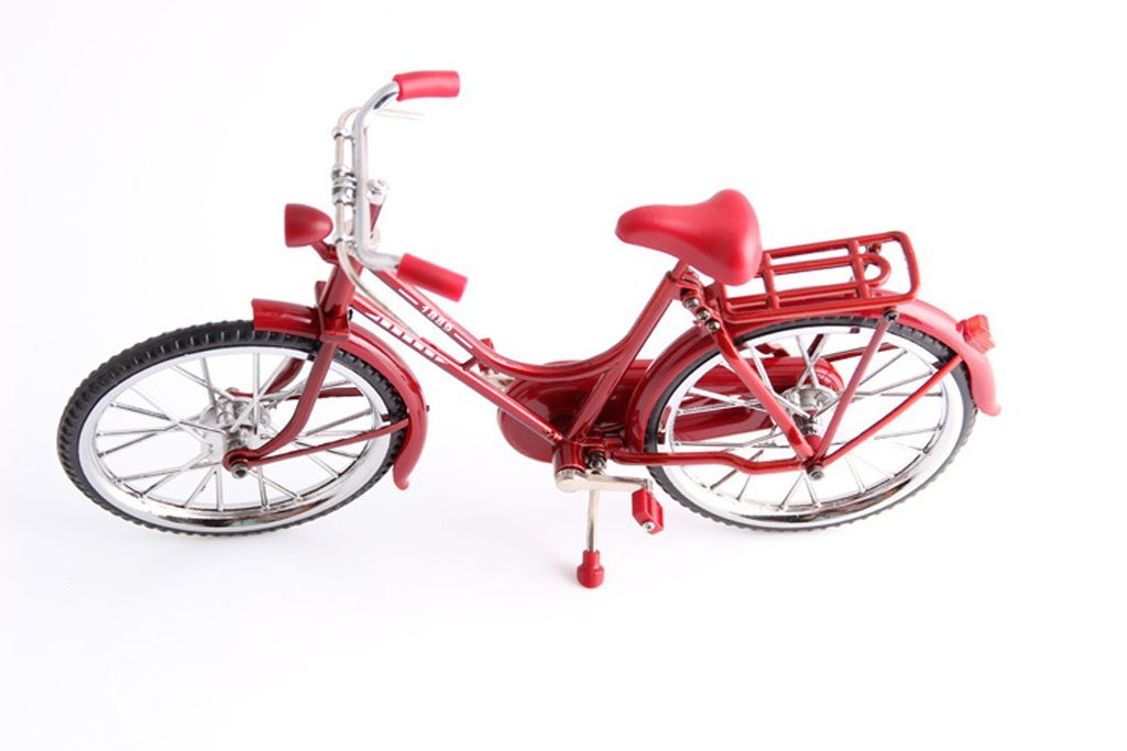 sleeri DIY Assembled Vintage Bicycle Bike Cycling Model Toy Home Office Decoration