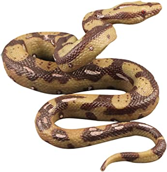 7/' Python Large Rubber Scary Realistic Snake Halloween Prop Fancy Dress