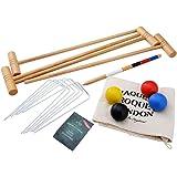 Croquet Set - Tonbridge - In Durable Canvas Bag - Jaques of London