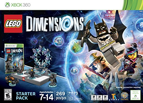 LEGO Dimensions Starter Pack - Xbox 360 (Best Games Console For 7 Year Old 2015)