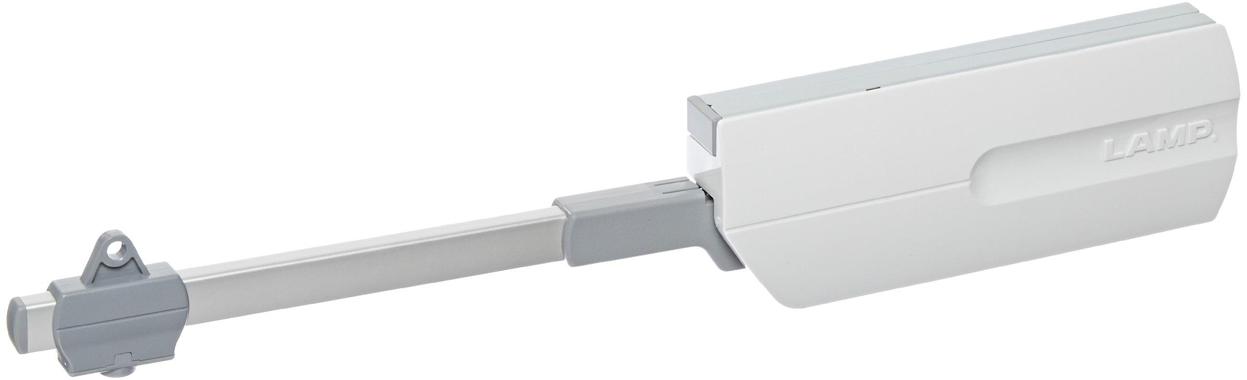 Sugatsune, Lamp SLS-ELAN-HL Lid Stays, Aluminium, Steel, ABS, Anodized,Galvanized,Light Grey