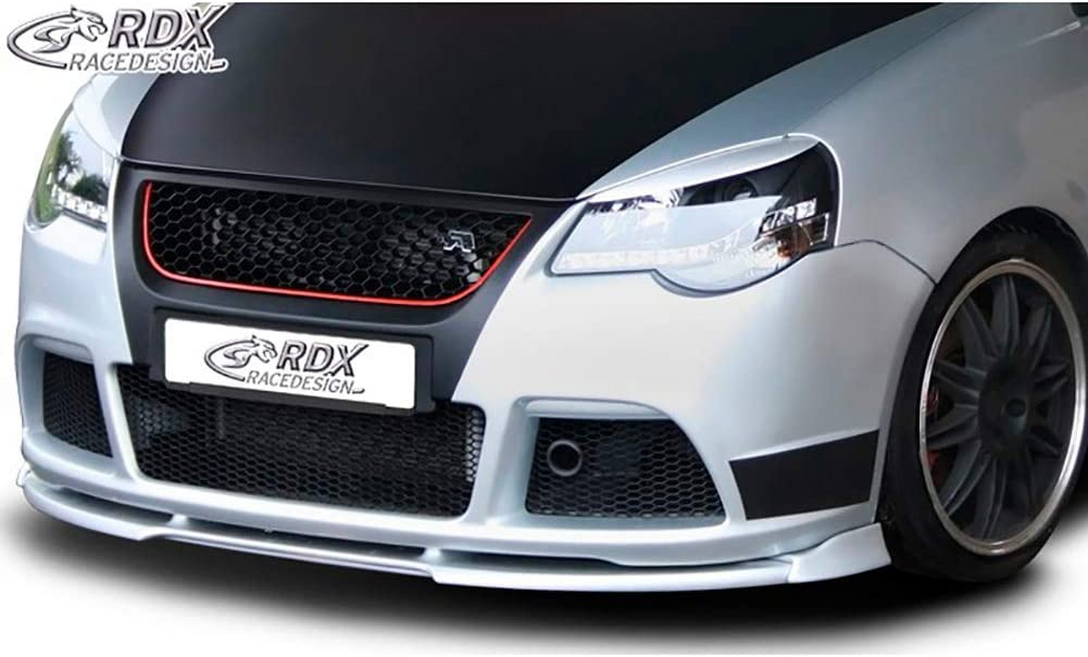 GTI Cup Edition Frontlippe Front Ansatz Vorne Spoilerlippe RDX Frontspoiler VARIO-X Polo 9N3 2005