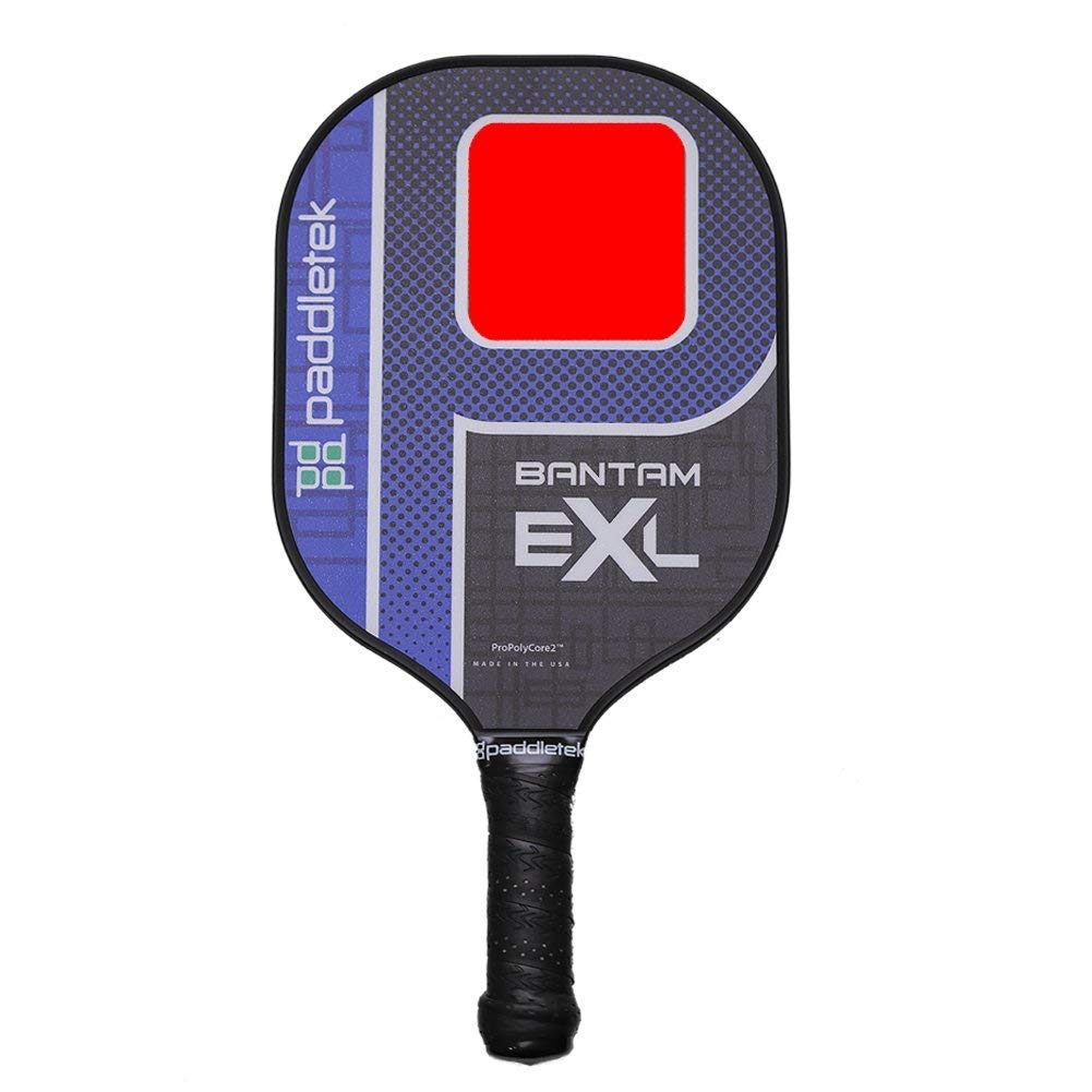 Paddletek Bantam EXL with ProPolyCore2 Pickleball Paddle (Blue/RO) by Paddletek