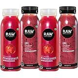 Raw Pressery Anti-Oxidant Life & Pomegranate Fresh Cold Pressed Juice Pack (2 x 250 ml)
