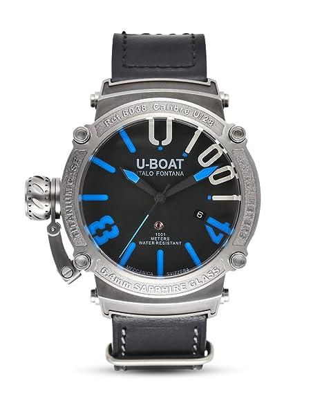 Reloj Automático U-Boat Classico, Titanio, Negro, 47mm, 8038