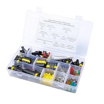 WINOMO Verbinder für elektrische Kabel Wasserdichte Steckverbinder ...