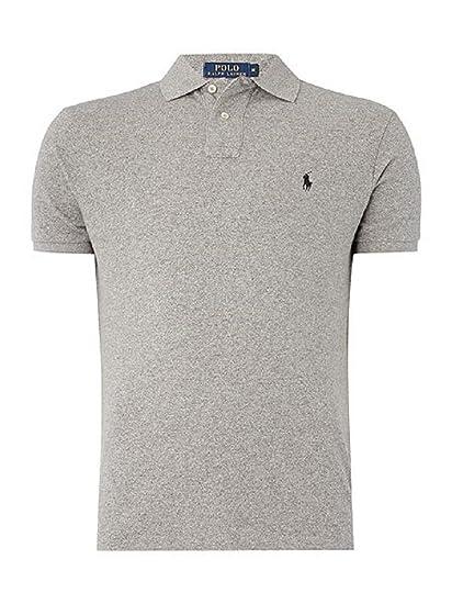 7d5d4b01 Ralph Lauren Men's Polo Shirt Classic Fit Various Colours (S, Grey Heather)