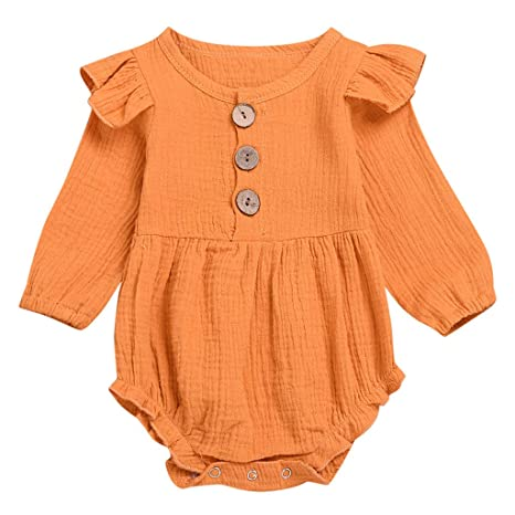 Amazon.com: oldeagle ropa de bebé, recién nacido bebé niña ...