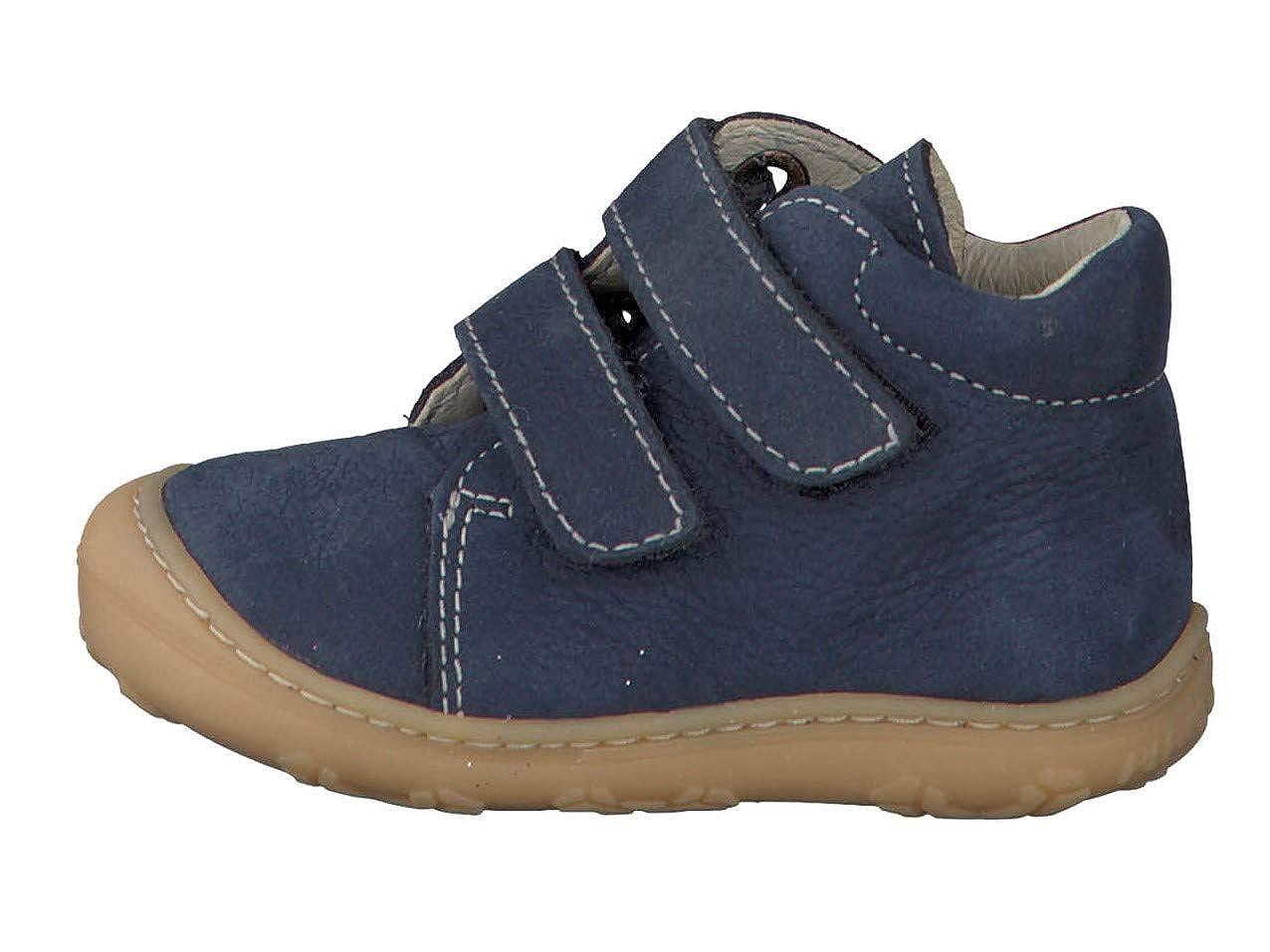 RICOSTA Pepino by Unisex WMS: Mittel Klettstiefel Leder Kind-er Kids junior Kleinkind-er Kinder-Schuhe,See,24 EU // 7 UK Kinder Stiefel Chrisy