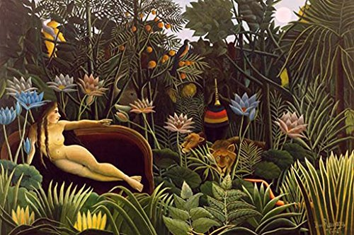 Buyenlarge Pipes (Buyenlarge 0-587-61973-L-DC-32x48_082017 The Dream, Henri Rousseau Wall Decal)