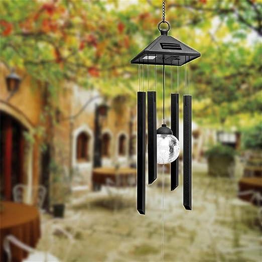 Solar exterior jardín luz paisaje balcón decoración araña lámpara ...