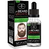 ひげ油 - Delaman 育毛トニック、眉毛、ひげの成長、滋養、30ml