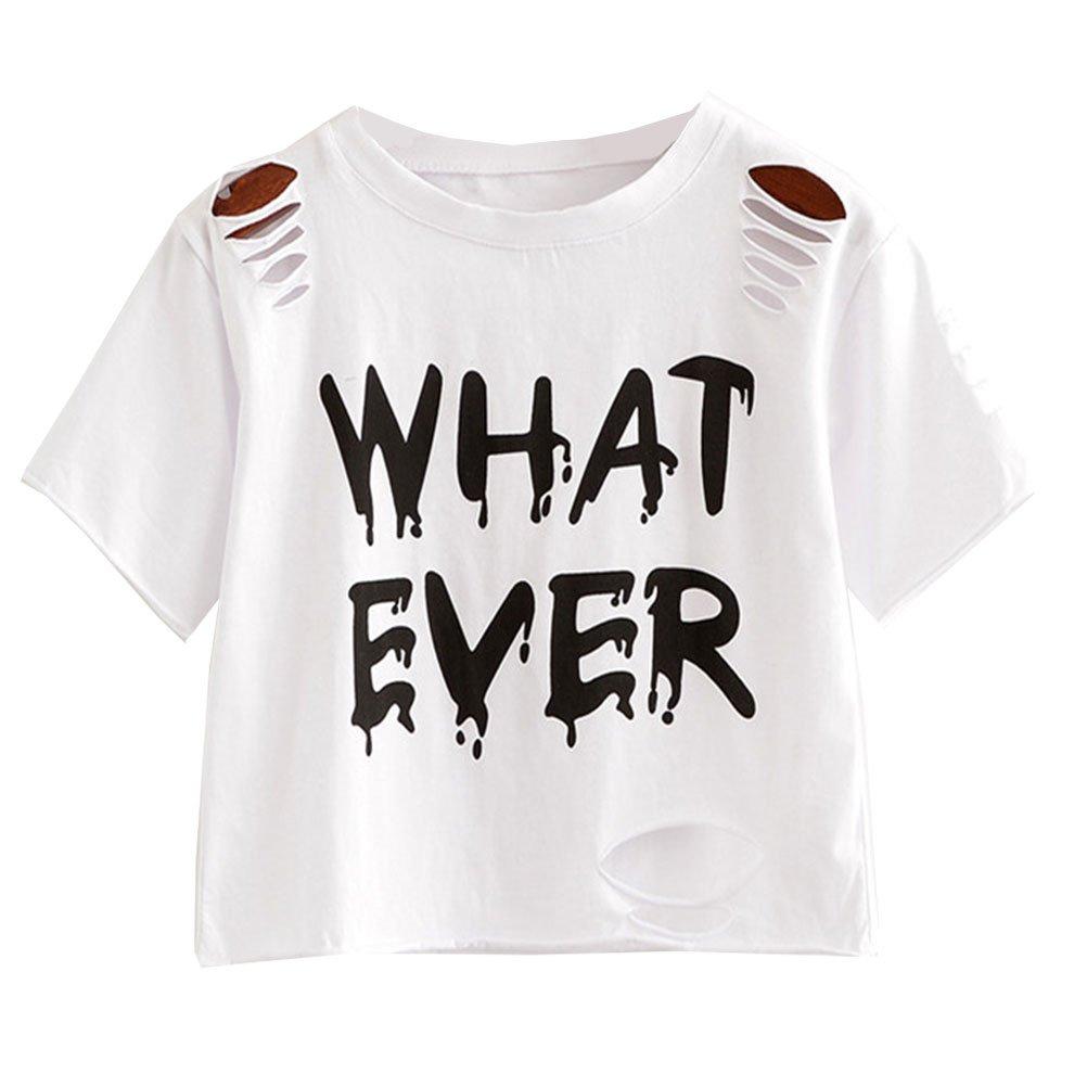 957f7bf6ebe07a Amazon.com  Kawaii Blouses Cute Harajuku Shirts Ice Cream Printed Short  Sleeve Tops T Shirt