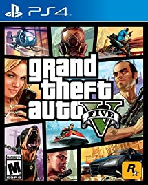 Amazon Com Grand Theft Auto V Playstation 4 Take 2 Interactive
