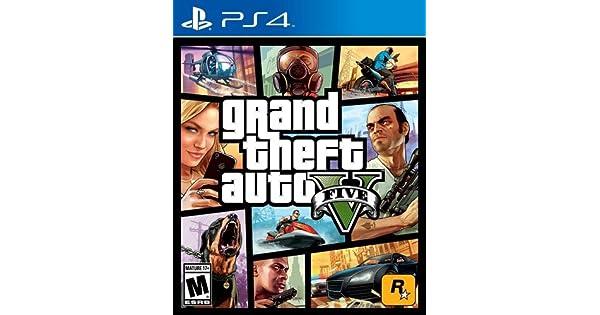 Amazon com: Grand Theft Auto V - PlayStation 4: Take 2 Interactive