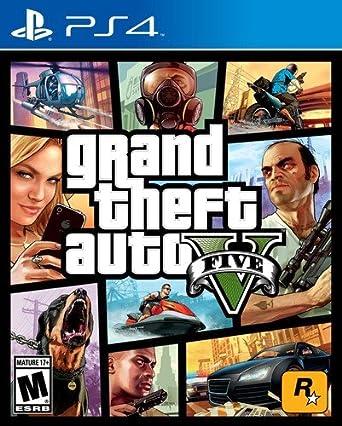 Amazon Com Grand Theft Auto V Playstation 4 Take 2 Interactive Video Games