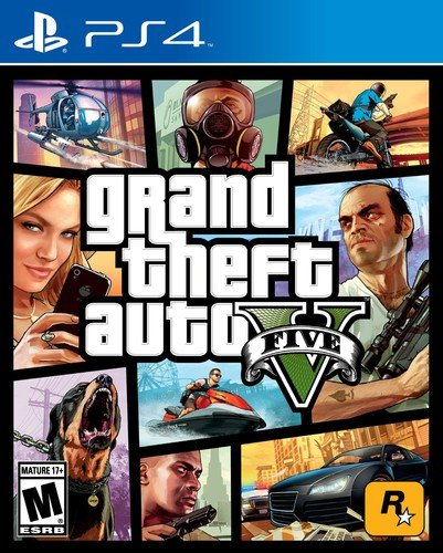 Grand Theft Auto V - PlayStation 4 Discount Ps3 Games