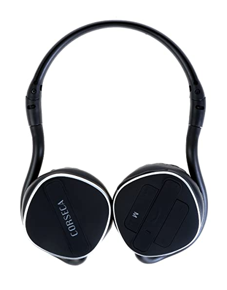Corseca 5810BT Bluetooth Stereo Headphone with Mic, MP3 Player PC Headsets