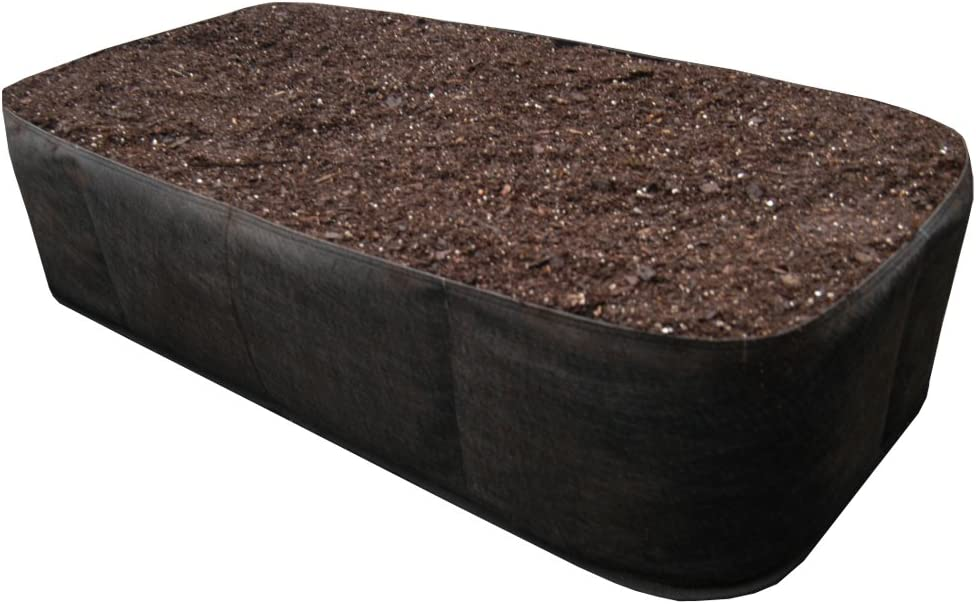 Victory 8 Garden EZ-GRO 2 ft X 4 ft Raised Garden Bed Just Right Size AeroFlow Proprietary Fabric Pot Grow Your OWN